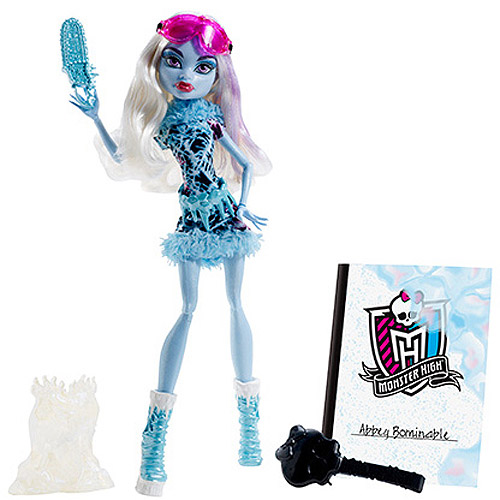 Monster High Art Class Abbey Bominable Doll by Mattel