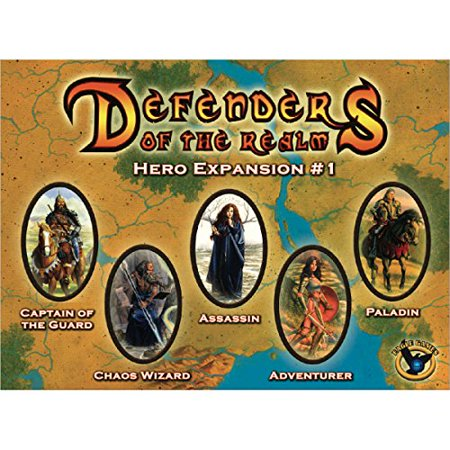 Eagle games Defenders of The Realm Hero Board game - image 1 de 1
