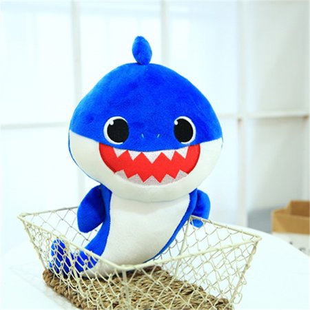 Baby Shark Light Singing Plush Toys Music Doll English Song Gift For Kids  Toy