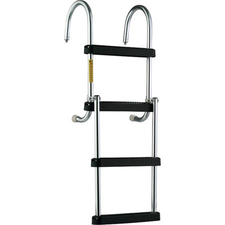 Garelick Sport Ladder (Garelick EEz-In Removable 4-Step Folding Pontoon Boarding Ladder )