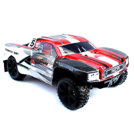 Redcat Racing BLACKOUT-SC-PRO-RED Blackout SC PRO 1/10 Scale Brushless Electric Short Course (1 5 Scale Rc Short Course Truck)