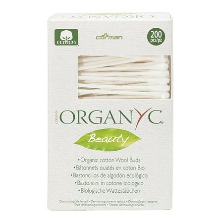 Corman Organyc Beauty Cotton Swabs  200 Ct