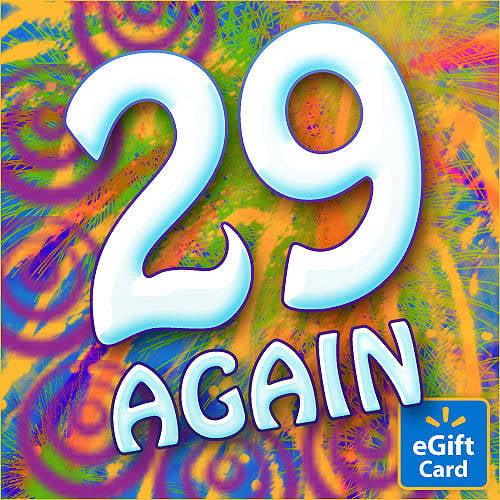 29 Again Walmart eGift Card