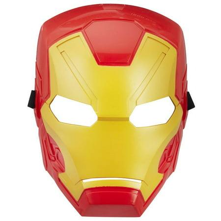 Marvel Avengers Basic Iron Man Mask](Avengers Masks)