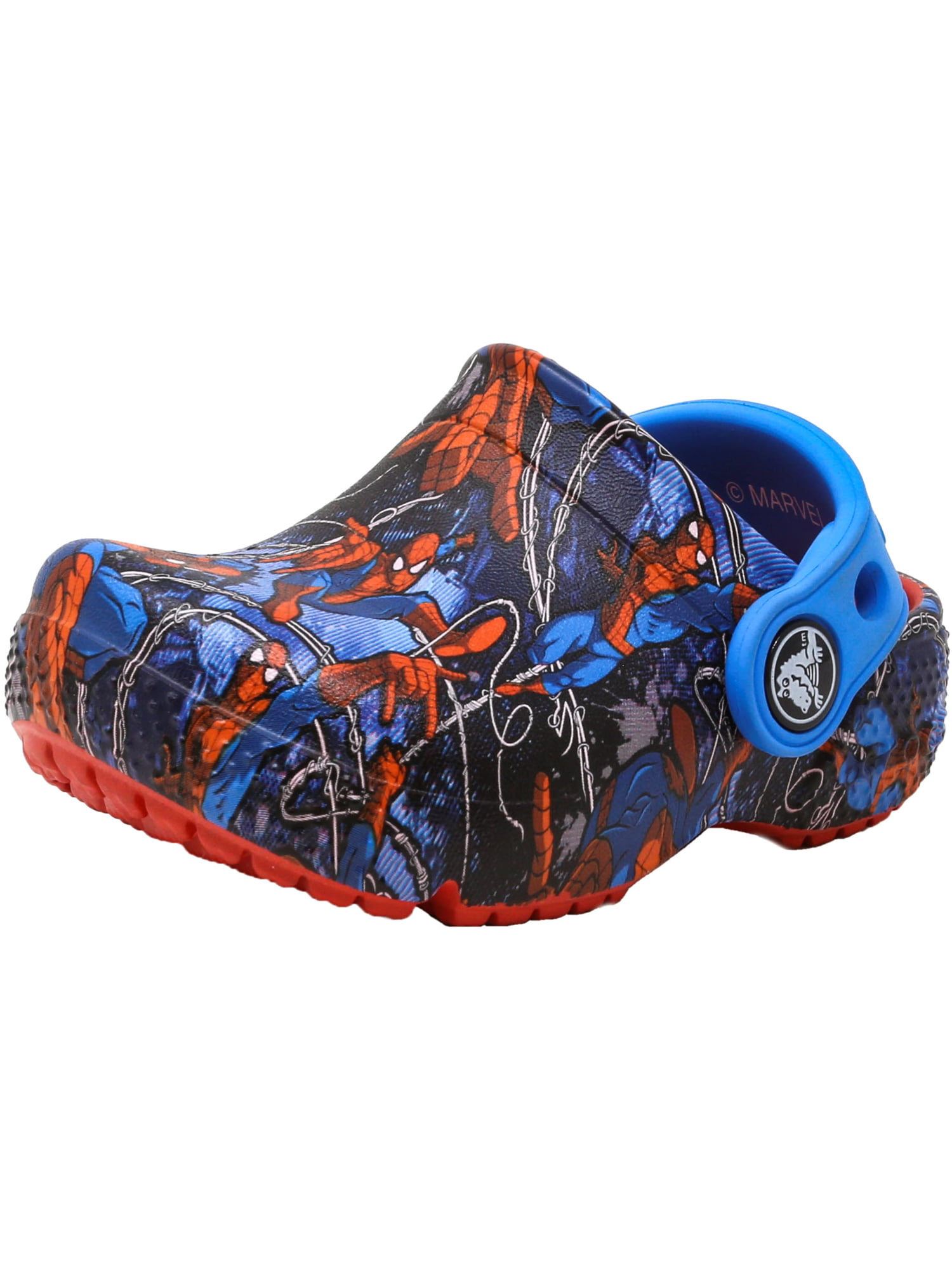 Crocs Crocsfunlab Spiderman Flame Ankle-High Clogs 5M by Crocs
