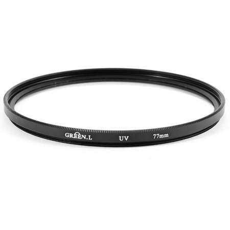 Limited Offer 77mm Protector Ultra-Violet UV Filter Lens Black for Canon Nikon DSLR Camera Before Too Late