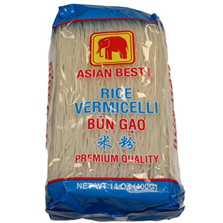 Asian Best Premium Rice Vermicelli Bun Gao 140z (3