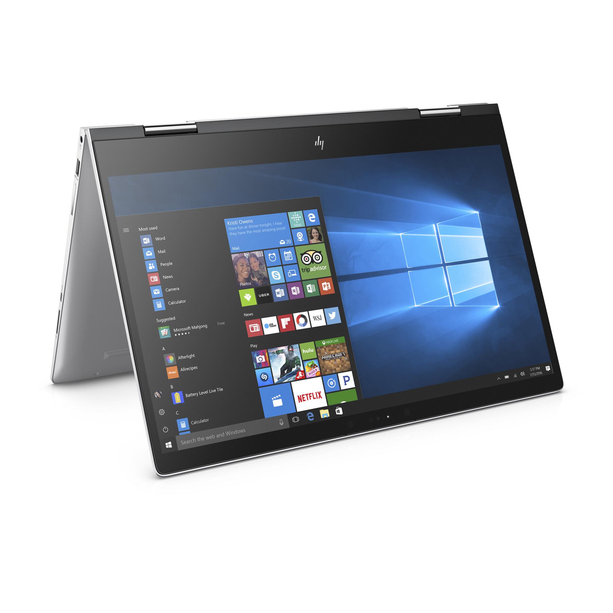 HP Envy 15-BP175NR Natural Silver 15.6 inch Touch Laptop, Windows 10, Core i7-8550U QC Processor, 8GB Memory, 1TB Hard Drive, UMA Graphics, Backlit Keyboard, Bang & Olufsen