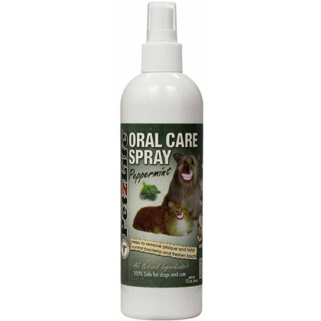PetzLife Peppermint Oral Care Spray, 12 oz