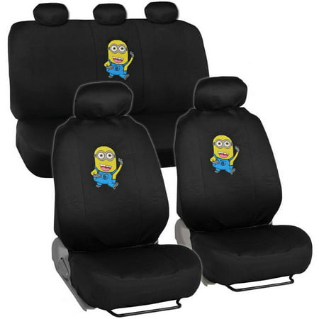 Despicable Me Minions Seat Covers For CAR SUV VAN Officially Licensed Products Full Set
