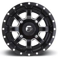 Fuel Maverick 14x7 ATV/UTV Wheel - Matte Black (4/156) 4+3 [D5381470A544]