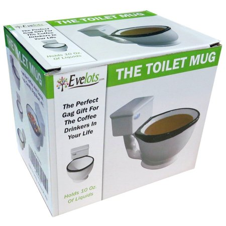 Super Bowl Mugs (Toilet Mug Toilet Bowl Coffee Cup Toilet Coffee Mug Gag Humorous Christmas)