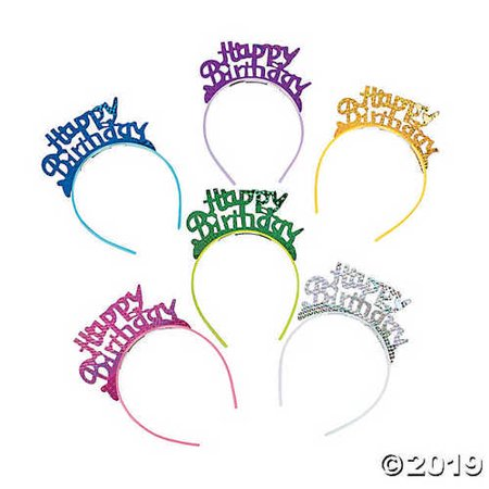 Happy Birthday Headbands (Happy Birthday Headband)