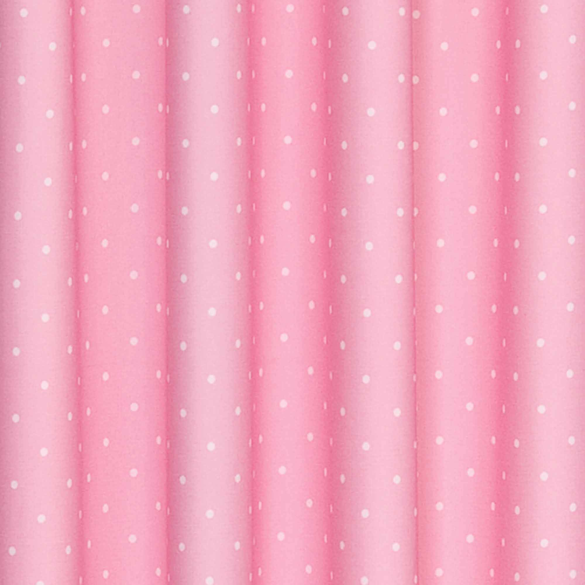 Pink Curtains For Bedroom Eclipse Dots Blackout Thermal Girls Bedroom Curtain Panel