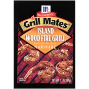 (4 Pack) McCormick Grill Mates Island Woodfire Marinade, 1.1 oz