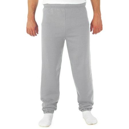(Big Men's NuBlend Preshrunk Fleece Elastic Bottom Sweatpant)