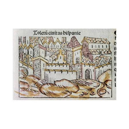 Toledo. Spanish City. Engraving. 15Th Century. Print Wall Art By Tarker - Party City Toledo
