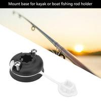 Yosoo Boat Sea Fishing Rod Holder Mount Base Nylon Mount Base Tackle Accessory ,Fishing Rod Holder, Boat Fishing Rod Holder Base