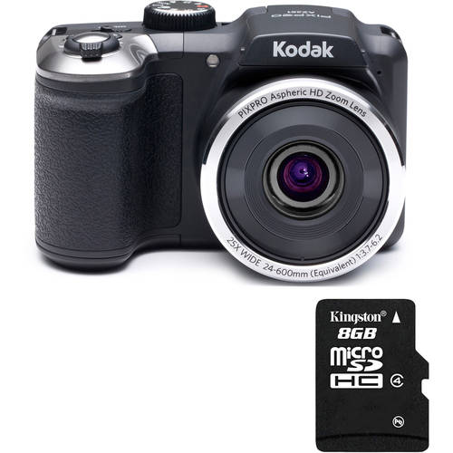 Kodak AZ251 Digital Camera with Bonus Memory Card
