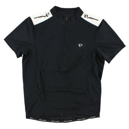 Pearl Izumi Mens Short Sleeve Quest Jersey Black (Pearl Izumi Lycra Bike Short)