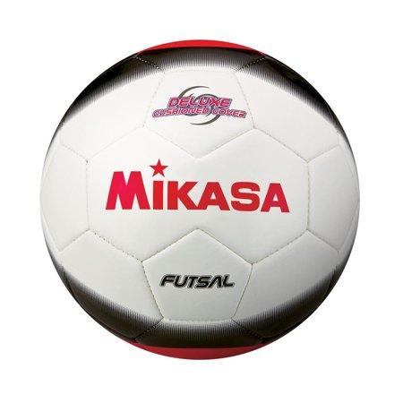 Mikasa Fsc450 Futsal Soccer Ball Official Wt/Bk/Re (Usa Official Soccer Ball)