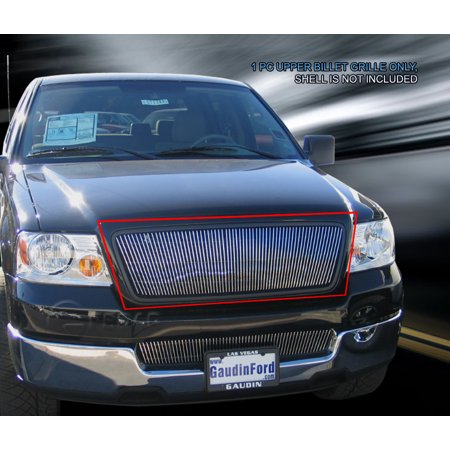 Fedar Lower Bumper Billet Grille For 2004-2005 Ford F-150 (Vertical)