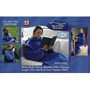 The Cozy Blanket with Sleeves