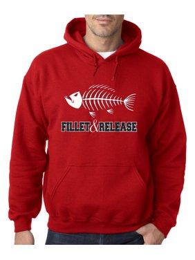 247cbb66867a Product Image 036 - Hoodie Fillet   Release Fishing Fish Bones Skeleton  Sweatshirt