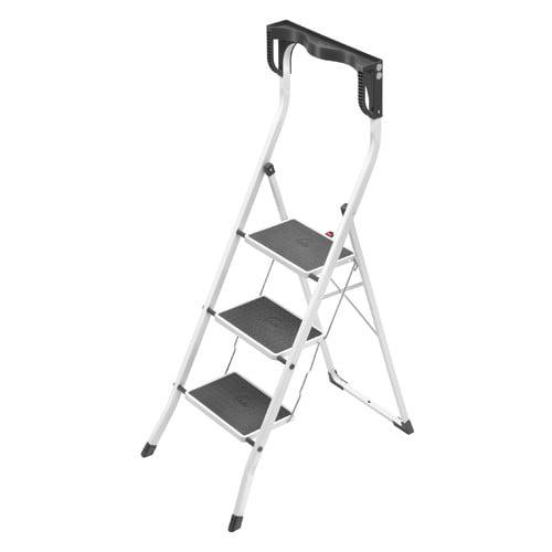 Hailo Household Step Stool, White 4343-001