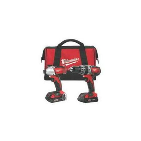 Milwaukee 2697-22CT M18 Hammer Drill W/Impact Dr W/Cmpt Bat