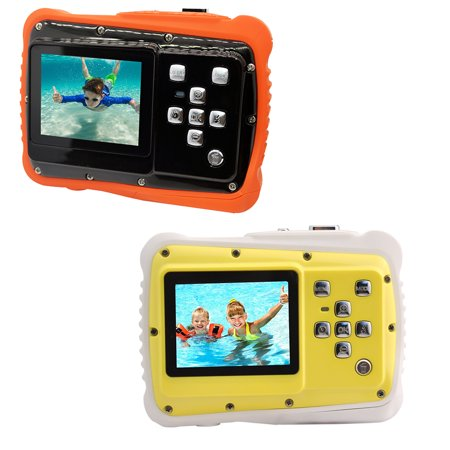 Zoom Underwater Camera Housing (Waterproof Digital Camera for Kids,12MP Underwater Shockproof Action Camera & Video Camera with 2.0 Inch LCD Display, 4X Digital Zoom)