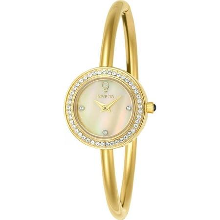 Invicta Womens Gabrielle Union Gold Tone Steel Bracelet   Case Quartz Analog Watch 23263