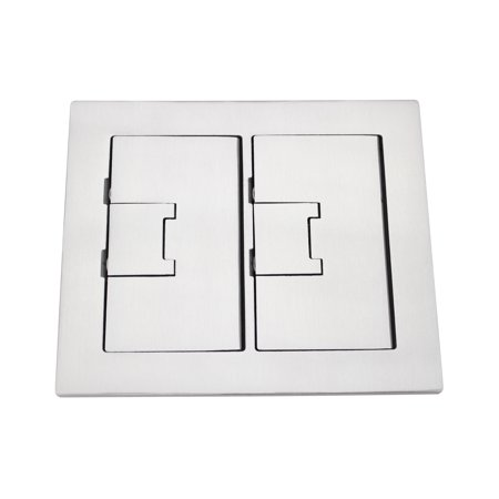 Carlon Thomas Amp Betts E9762ss 2 Gang Rectangular Floor Box