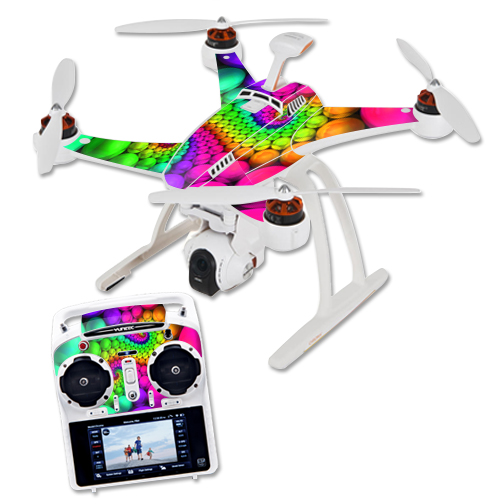 Skin Decal Wrap for Blade Chroma Quadcopter Drone Hallucinate