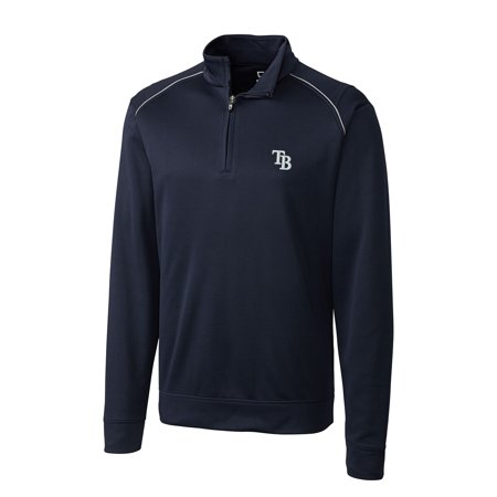 Weathertec Jacket (Tampa Bay Rays Ridge WeatherTec Half-Zip Pullover Jacket - Navy )