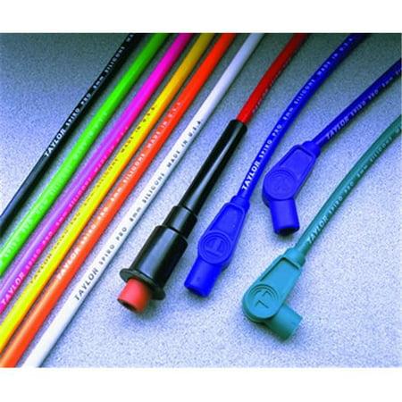 78351 8 mm. Orange Spark Plug Wire Set on