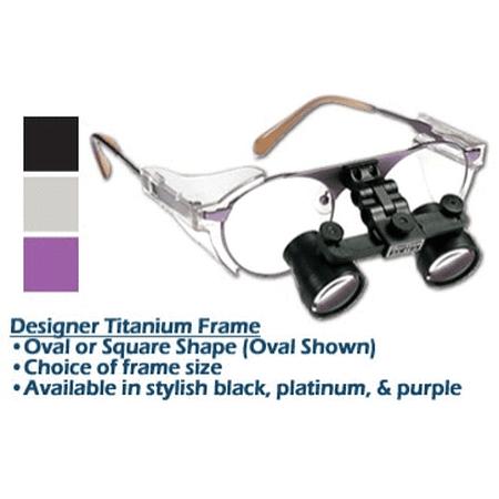 - 2.5xx SheerVision Titanium Ultra-Light Flip-Up Loupes