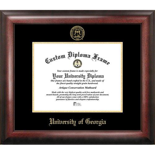"University of Georgia 12"" x 15"" Gold Embossed Diploma Frame"