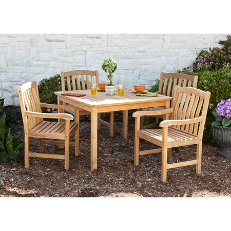 Southern Enterprise Summersby Teak Patio Dining Set