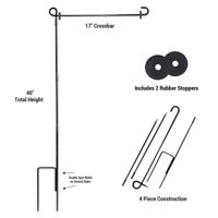 Garden Flag Stand and Stopper Set
