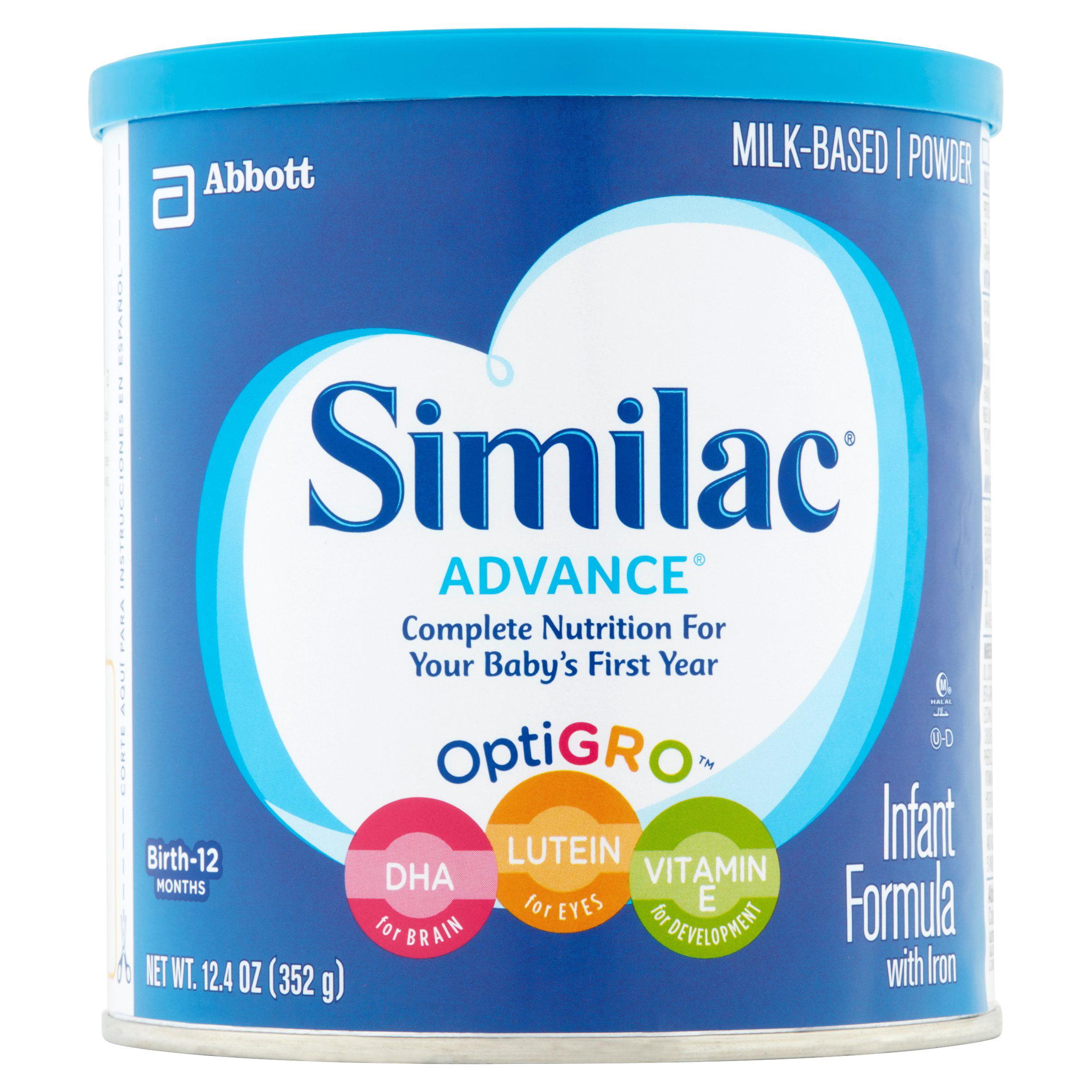 Similac Advance Infant Formula with Iron, Powder, 12.4 oz