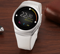 TechComm KW18 Smartwatch & Fitness Activity Tracker With Heart Rate Monitor