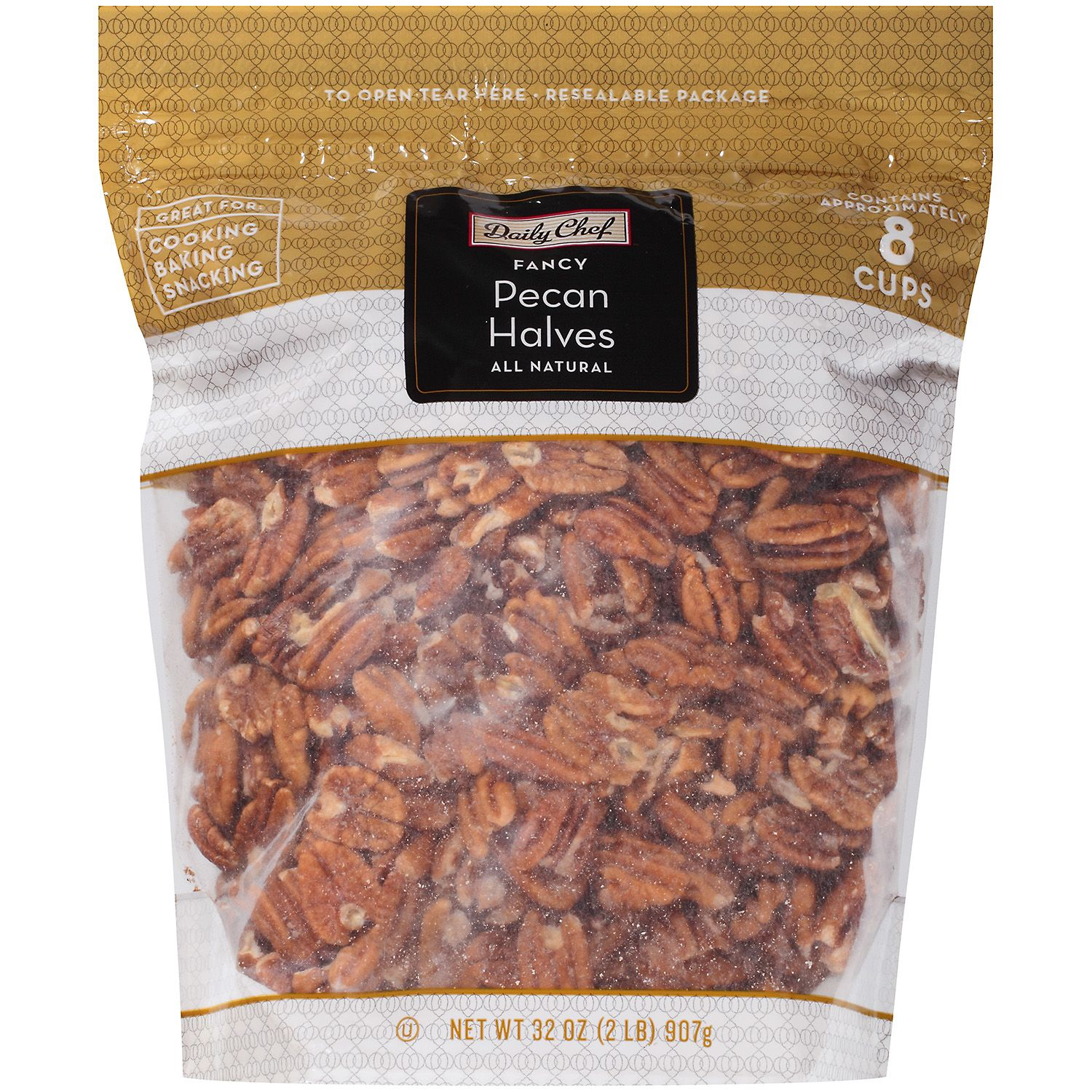 Daily Chef Fancy Pecan Halves 2 lbs. by SAM'S WHOLESALE CLUB