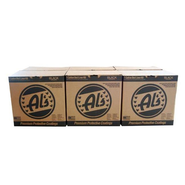 Als Liner ALS-6K DIY Truck Bed Liner Kits, Black - 6 Gallon
