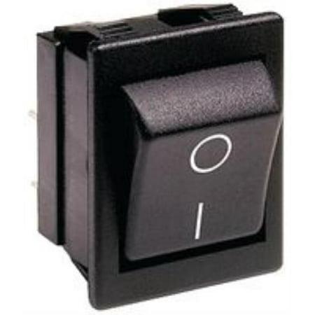 (2X Arcolectric Switches C1350arbb-602aw Switch, Rocker, Dpst, 20a, 250vac, Black)