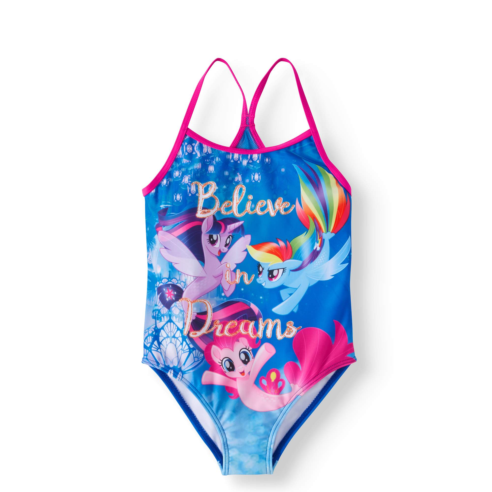 My Little Pony LIttle Girls' 4-6X One-Piece Swimsuit