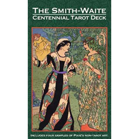 Tarot Cards Smith-Waite Deck Centennial Reproduction of Original Deck 1909 Collectors Edition Includes 82-Cards and 16 Page Booklet Fortune Telling Tool by Pamela Colman Smith - Mysterious Fortune Cards