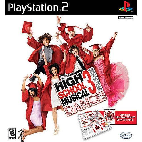 High School Musical 3: Senior Year DANCE! Bundle (PS2)