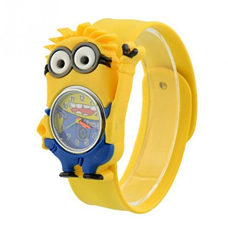 Kids Despicable Me, Minion, Slap Watch, Girls, Boys Educational -Time - Let Me Watch Halloween 6