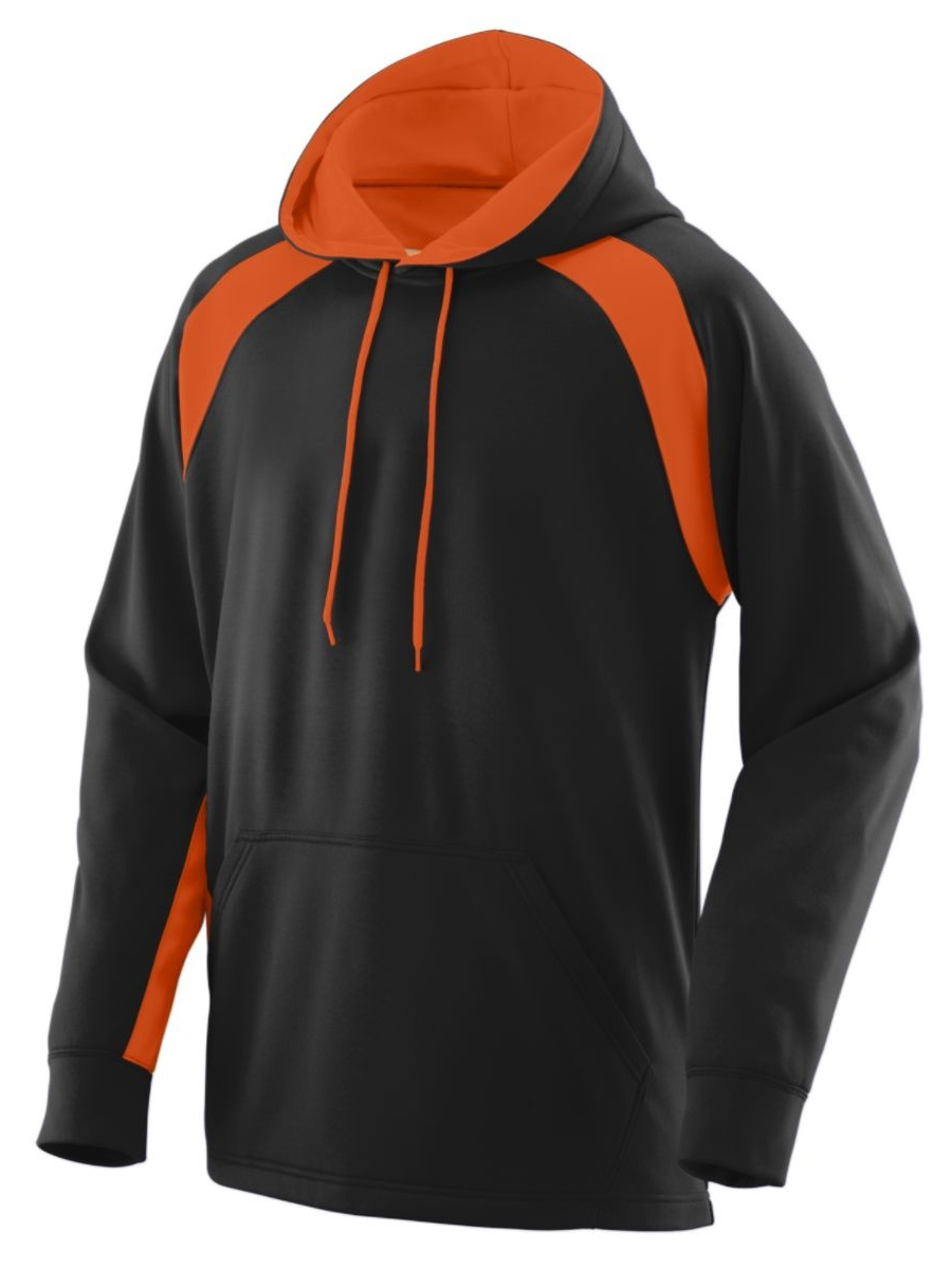 Augusta Drop Ship Adult Wicking Brushed Back Poly/Span Hoody